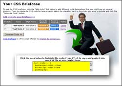 CSS Briefcase screen shot