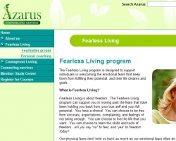 Azarus Counseling Web Site - Internal View