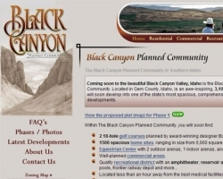 Black Canyon Planned Community Web Site