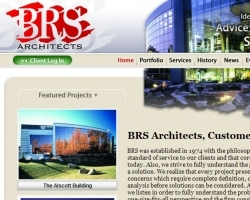 BRS Architects Web Site