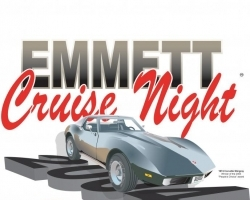 Emmett Cruise Night Logo
