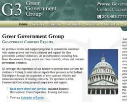 Greer Government Group Web Site
