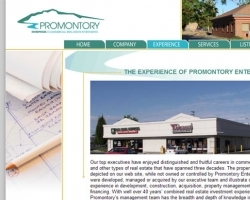 Promontory Enterprises Web Site