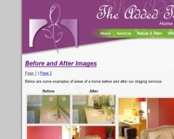 The Added Touch Web Site