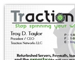 Tractionet Business Card