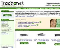 Tractionet Web Site