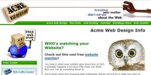 Acme Web Design Web Site