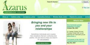 Azarus Counseling Web Site