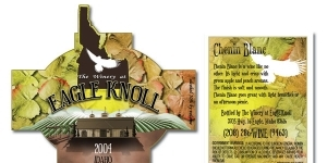 Eagle Knoll Winery Wine Label