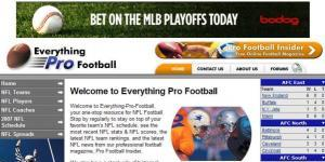 Everything Pro Football Web Site