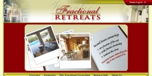 Fractional Retreats Web Site