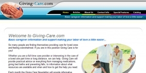 Giving Care Web Site