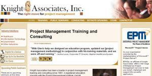 Knight Associates, Inc Web Site
