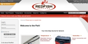 Redfish Sensors Web Site